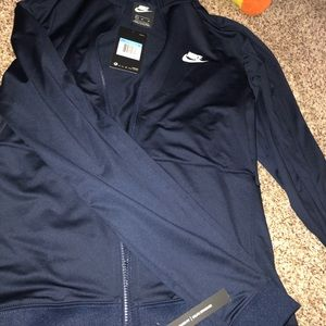 Nike standard fit zip up jacket